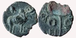 Ancient Coins - INDIA, SATAVAHANA EMPIRE: GOTAMI-PUTRA SRI-SATAKARNI OR LATER