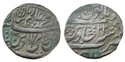 World Coins - MARATHA CONFEDERACY: AR RUPEE, (10.98G, 22MM), IN THE NAME OF SHAH ALAM II, KUNAR HIJRI,
