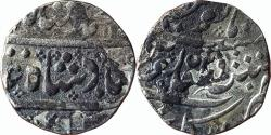 World Coins - India, French India: Arkat, AR rupee,  in the name of  Mughal Emperor Muhammad Shah, RY-29