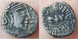 Ancient Coins - INDIA, GUPTA EMPIRE: SKANDAGUPTA (c.455-480 AD), RARE , AR 1/2 DRACHM,