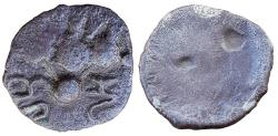 "Ancient Coins - INDIA, PRE-ISLAMIC SIND & MULTAN: SILVER 2 DAMMAS, ca.600-700 AD - ""BhoHoNya"""