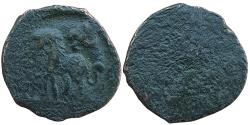 Ancient Coins - LOCAL  GANDHARAN   ISSUES: AE, PUSHKALAVATI  UNDER  THE GREEKS, C. 168-160 BC