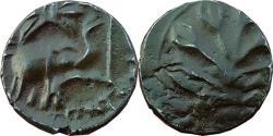 Ancient Coins - INDIA, WESTERN KSATRAPAS: NAHAPANA, ELEPHANT AND TREE TYPE, POTIN