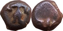 Ancient Coins - INDIA, UPPER TAPI VALLEY: ANONYMOUS DEITY TYPE, AE