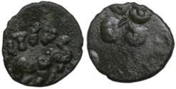 Ancient Coins - INDIA, SATAVAHANA EMPIRE: VASITHIPUTRA SIRI PULUMAVI (85-125 AD), SOUTHERN TYPE/ISSUE