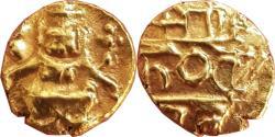 World Coins - MYSORE KINGDOM: KANTHIRAVA NARASA RAYA (1638-1662 AD), AV FANAM, 0.39G