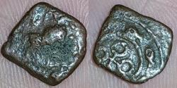 Ancient Coins - INDIA, UJJAIN: LION TYPE, AE