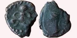 Ancient Coins - INDIA, WESTERN CENTRAL INDIA: HUMAN FIGURE AND BUST TYPE