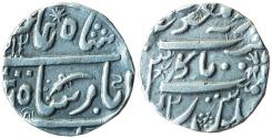 World Coins - INDAI, Jodhpur State: AR Rupee in the name of Shah Alam II, Pali Mint,