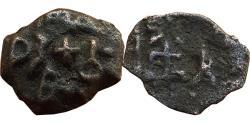 Ancient Coins - INDIA, ERICH: AE, 2.13 GM, 17 MM, OBV: BRAHMI LEGEND; 'ERIKACHA'