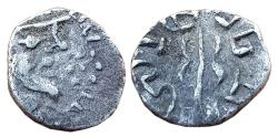 Ancient Coins - NEWLY DISCOVERED KING, AR DAMMA OF RANAVIGRAHA, KING OF SIND / MULTAN REGION?