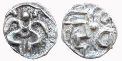 Ancient Coins - INDIA, KALACHURIS OF  OF RATRNAPUR: RATNADEVA 1120-35CE, AR PANA,