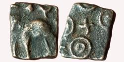 Ancient Coins - INDIA, UJJAIN: ELEPHANT TYPE, AE,