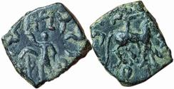 Ancient Coins - India, Indo-Scythian: Mujatria (c. 10 - 20 AD), AE unit