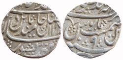 World Coins - BHARATPUR: JAWAHAR SINGH (1764-1768), AR RUPEE,MAHENDRAPUR MINT,