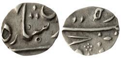 World Coins - HYDERABAD: NASIR UD-DAULAH, 1829-1857 AD, AR 1/4 RUPEE