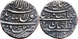 World Coins - MUGHAL EMPIRE : SHAH JAHAN, AH1037-1068/AD1628-1658, AR RUPEE, 11.21G, DEHLI  MINT