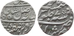 World Coins - BENGAL PRESIDENCY: AR RUPEE, 11.61G, 21MM, IN THE NAME OF SHAH ALAM II, MURSHIDABAD MINT,