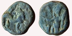 Ancient Coins - INDIA, INDO-SCYTHIANS, NORTHERN SATRAPS: RAJUVULA