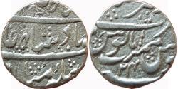 World Coins - MARATHA CONFEDERACY: AR RUPEE, (11G, 19MM), IN THE NAME OF SHAH ALAM II, AJMIR MINT,
