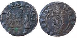 World Coins - ITALY, VENEZIA: FRANCESCO ERIZZO, 1631-1646 AD, AE SOLDO DA 12 BAGATTINI