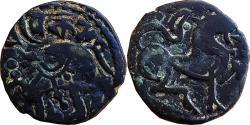 Ancient Coins - HINDU SHAHI KINGS OF KABUL:  AE JITAL OF VAKKADEVA ,