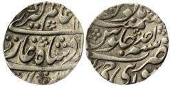 World Coins - JAIPUR: MUGHAL STYPE AR RUPEE, 11.31G, IN THE NAME OF ALAMGIR II