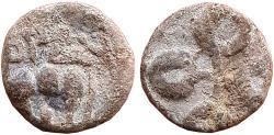 Ancient Coins - INDIA, IKSVAKUS: MATHARIPUTRA SRI-VIRA PURUSADATTA, LEAD UNIT