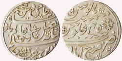 World Coins - Bengal Presidency: AR Rupee, 1820-1830, Farrukhabad (Pseudo-mint-name), fixed RY-45, struck at Benares/Sougor?