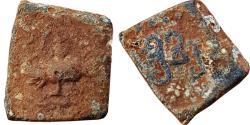 Ancient Coins - INDIA, Gupta Empire: Chandragupta II (Vikramaditya) Ca. A.D. 375-414, lead