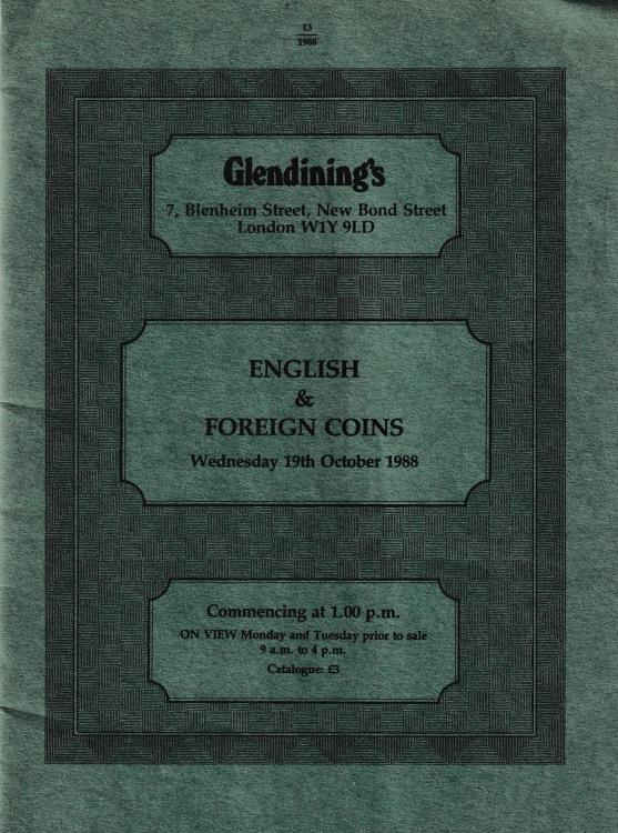 Ancient Coins - Glendining's, English & Foreign Coins