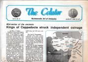 Ancient Coins - The Celator Numismatic Art of Antiquity Vol 3, No. 8. Mini-series of the ancients Kings of Cappadocia struck indipendent coinage