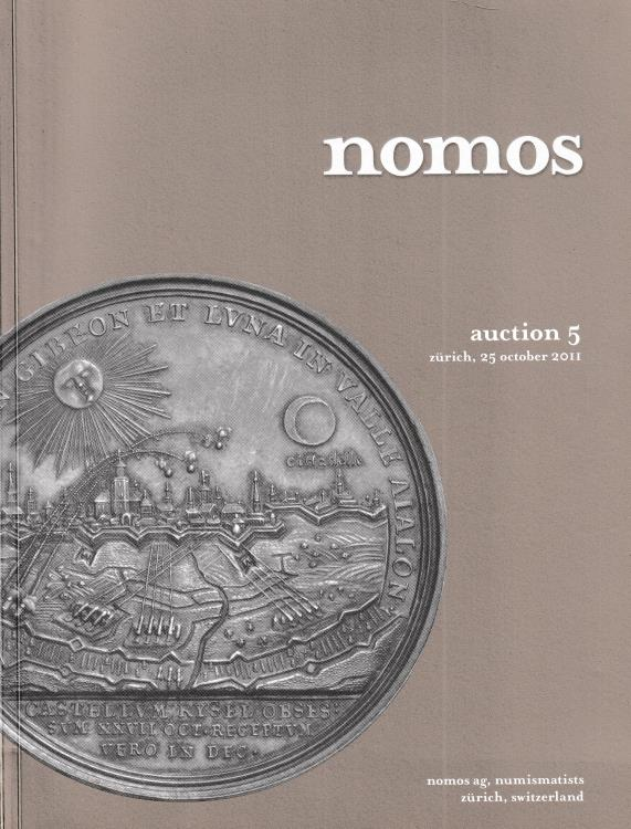 Ancient Coins - Nomos, Auction 5 European medals, greek, roman and early byzantine coins