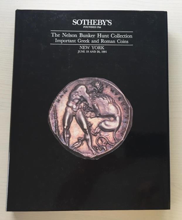 Ancient Coins - The Nelson Bunker Hunt Collection, Important Greek and Roman Coins - Auction held by Sotheby's New York, June 19 and 20, 1991