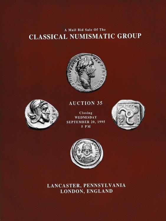 Ancient Coins - Classical Numismatic Group, Auction 35