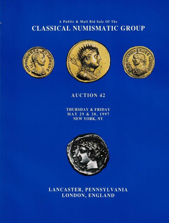 Ancient Coins - Classical Numismatic Group, Auction 42