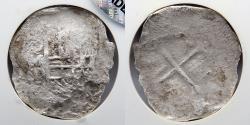 World Coins - MEXICO SHIPWRECK: Sao Jose Shipwreck, 4 Reales, Grade 3, NGC Genuine