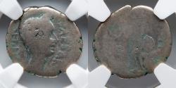 Ancient Coins - ROMAN IMPERATORIAL: Julius Caesar, AR Denarius, NGC G 4/5, 3/5