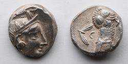 Ancient Coins - GREEK: Attica Athens, AR Tetradrachm, 490-407 BC (17.1g)