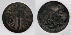 Ancient Coins - JUDAEA: Pontius Pilate, AE Prutah, Lituus/ Littus / Litus, c. AD 30, NGC certified Genuine