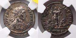 Ancient Coins - ROMAN EMPIRE: Probus, Antoninianus, AD 276-282 (22mm, 3.4g), NGC MS 5/5, 4/5, Rome Mint