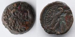 Ancient Coins - GREEK: Ptolemaic, Ptolemy VI, AE 18, 180-170 BC (8.09g)