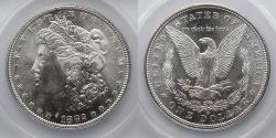 Us Coins - 1882-S Morgan Silver Dollar, ANACS MS 65