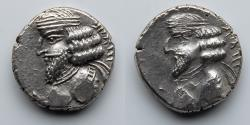Ancient Coins - KING OF PERSIS: Pakor II, AR Drachm (3.98g), Istakhr (Persepolis) Mint