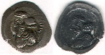 Ancient Coins - ITEM #47147 KINGS OF PERSIS, ARTAXERXES III (ARDASHIR) KING MIHR, CA. first HALF OF second CENTURY AD, AR hemidrachm, ALRAM 632, TYLER-SMITH 226var., VERY RARE
