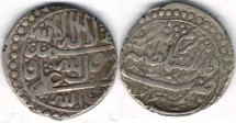 Ancient Coins -    Item #3474, Persian silver coin, Karim Khan Zand, Abbasi, Tabriz (AH1176) Type D, KM #528 NOT reported date in KM!! Now Confirmed @ VCOINS!!