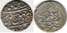 Ancient Coins - TEM #34140, IRANIAN SILVER COIN, KARIM KHAN ZAND, ABBASI, SHIRAZ (DATED 1180AH) TYPE C, KM #522, ALBUM 2800, NICE STRIKE, FLAWLESS FLAN and affordable piece of history