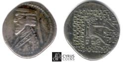 Ancient Coins - Item #19670, Parthia AR Phraates III 70-57 BC, drachm, Sellwood 38.14, Court of Artemita (traveling mint), extremely Rare (RRR)