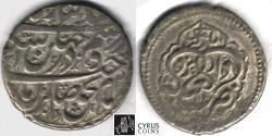 Ancient Coins - ITEM #34157, IRANIAN SILVER COIN, KARIM KHAN ZAND, ABBASI, YAZD mint, DATED 118(0) AH, TYPE C, KM #522, ALBUM 2800, NICE AND and pleasing example that is affordable too