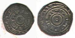 Ancient Coins - ITEM #1441 FATIMID, al-Mu'izz AH 341-365, AR SILVER 1/4 DIRHAM, MINT & DATE MISSING! (SCARCE) , ALBUM 700, Nicol 543